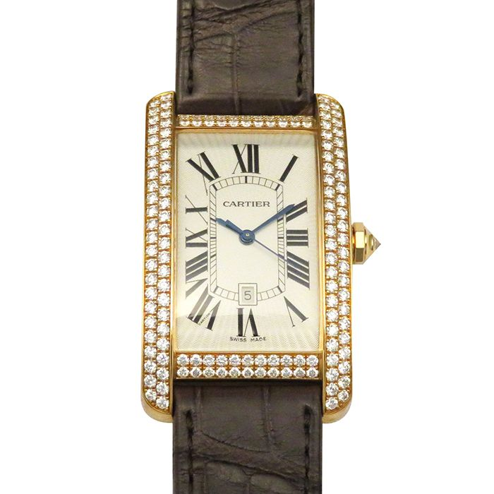 Cartier Cartier tank American LM WB704851 New product Watch mens