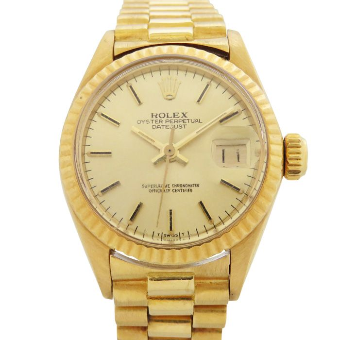 Rolex ROLEX Datejust 6900 USED Watch Women