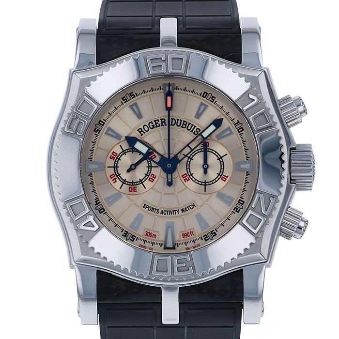 ROGER DUBUIS ROGER DUBUIS Easy diver Chronograph SE46 USED Watch mens