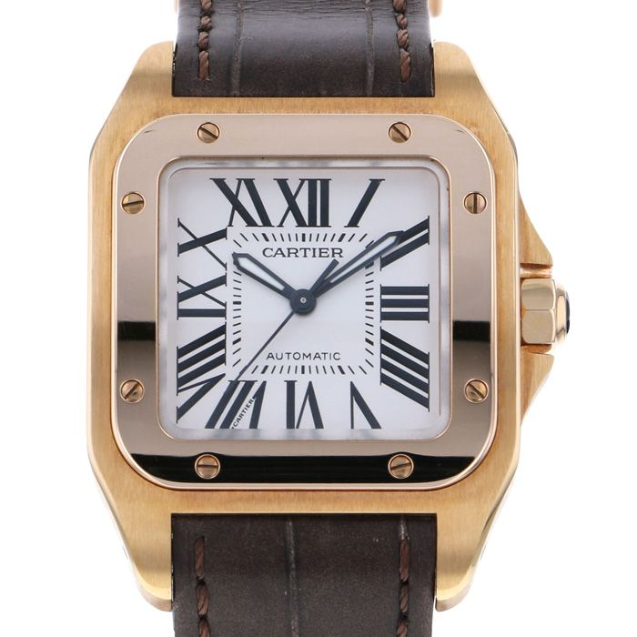 Cartier Cartier SANTOS 100 MM W20108Y1 unused Watch Women