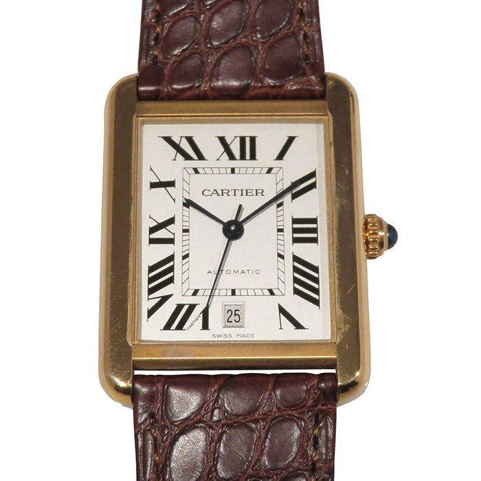 Cartier Cartier tank solo XL W5200026 New product Watch mens
