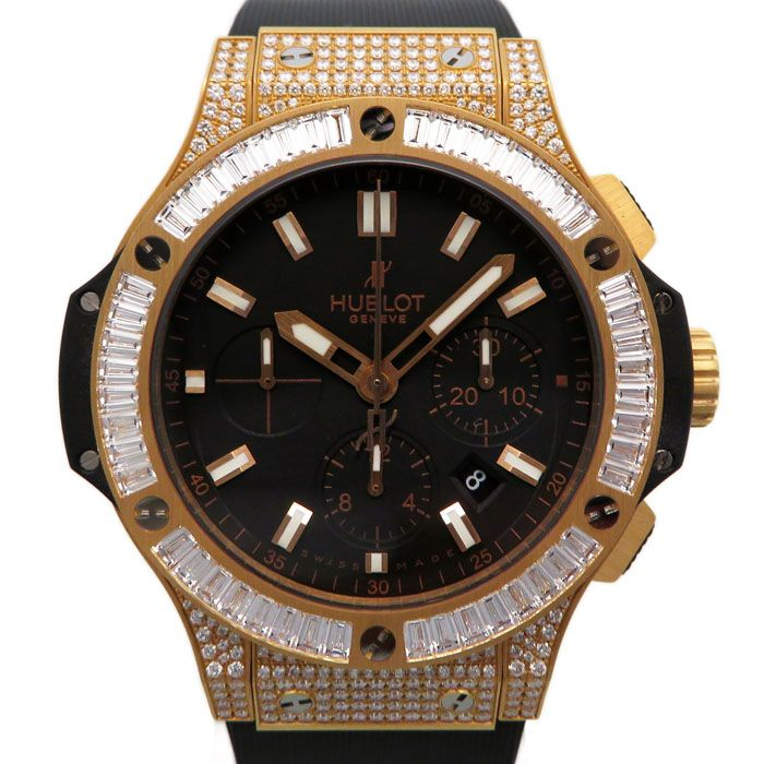 HUBLOT HUBLOT big Bang Evolution Bezel bucket lug diamond 301.PX.1180.RX.0904 New product Watch mens