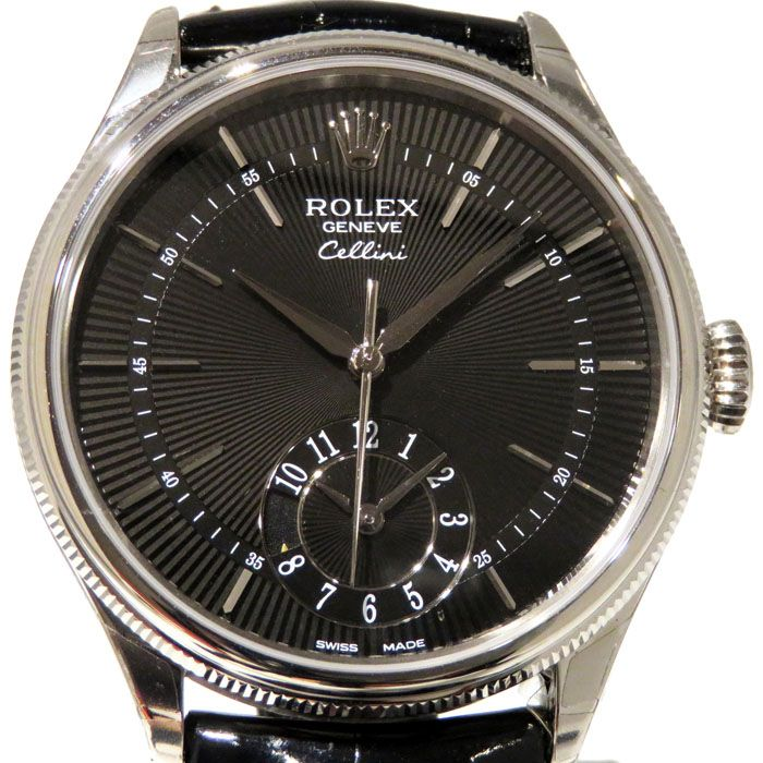 Rolex ROLEX Cellini Dual time 50529 New product Watch mens