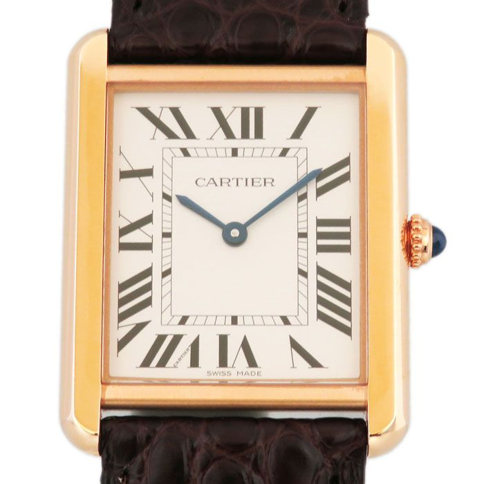 Cartier Cartier tank solo LM W5200025 New product Watch mens