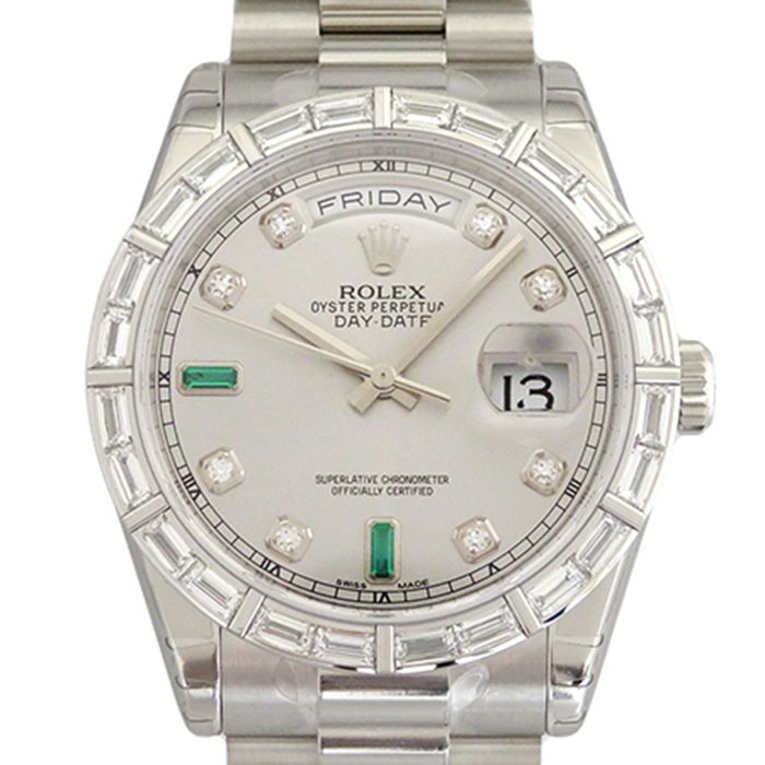 Rolex ROLEX Day-date 118366 New product Watch mens