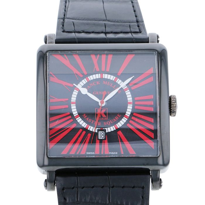 FRANCK MULLER FRANCK MULLER Master square Limited to 25 worldwide 6000KS CD DT USED Watch mens