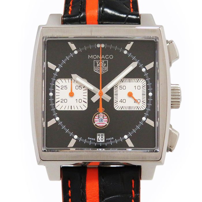 TAG HEUER TAG THIS YEAR Monaco Chrono Caliber 12 CAW211K.FC6311 New product Watch mens