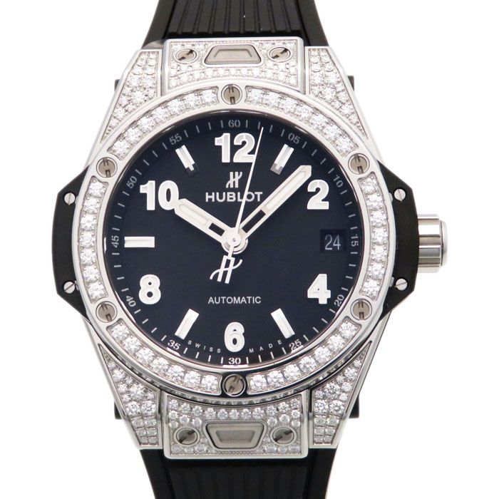 HUBLOT HUBLOT big Bang One click steel Pave 465.SX.1170.RX.1604 New product Watch mens