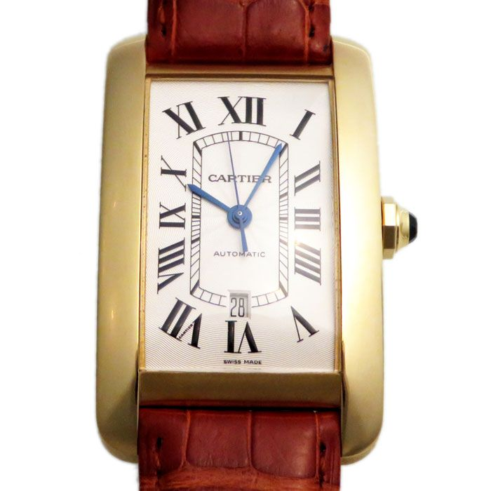 Cartier Cartier tank American LM W2609756 New product Watch mens
