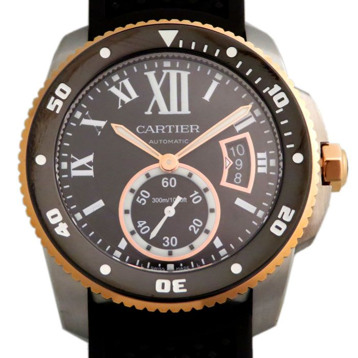 Cartier Cartier Calible Do Cartier Diver W7100055 New product Watch mens