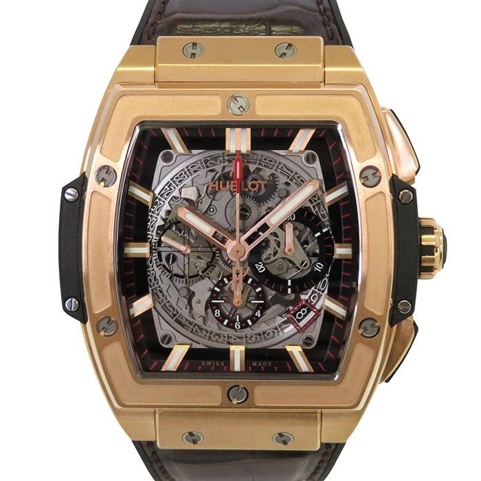 HUBLOT HUBLOT Spirit of Big Bang King Gold 601.OX.0183.LR USED Watch mens