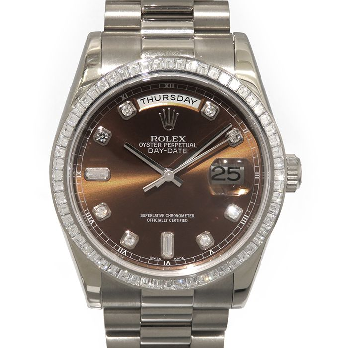 Rolex ROLEX Day-date 118399A USED Watch mens
