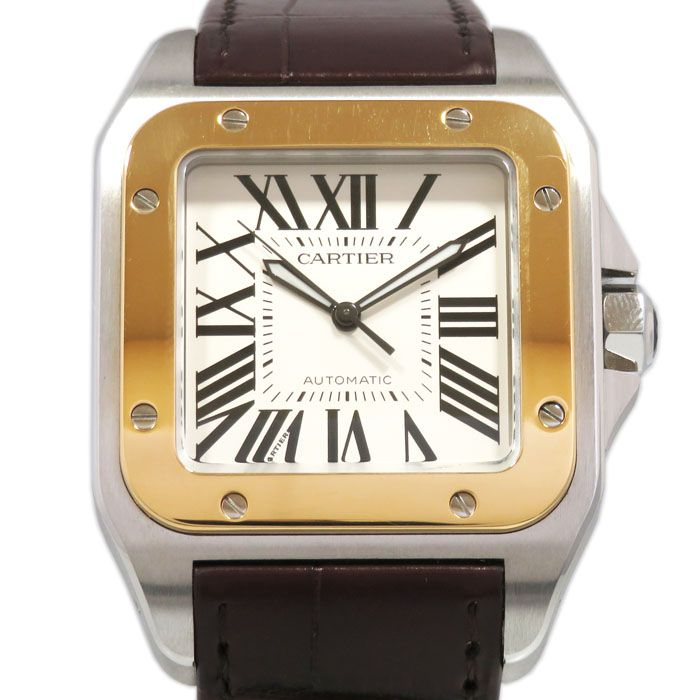 Cartier Cartier SANTOS 100 LM W20072X7 New product Watch mens
