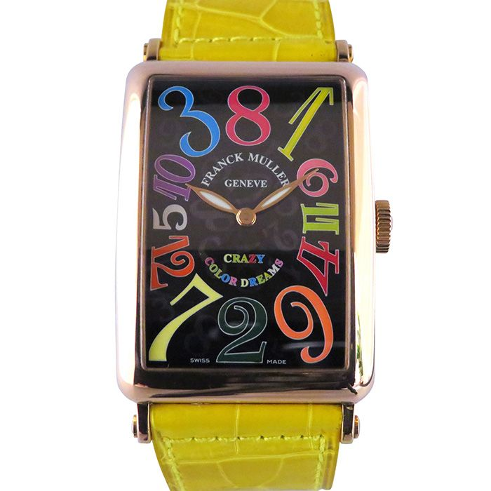 FRANCK MULLER FRANCK MULLER Long Island Crazy hours Color dream 1200CH COL DRM USED Watch mens