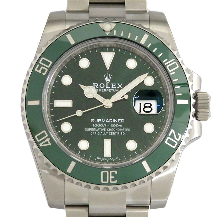 Rolex ROLEX Submarina Date 116610LV New product Watch mens