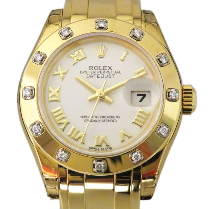 Rolex ROLEX Datejust Pearlmaster 80318 New product Watch Women