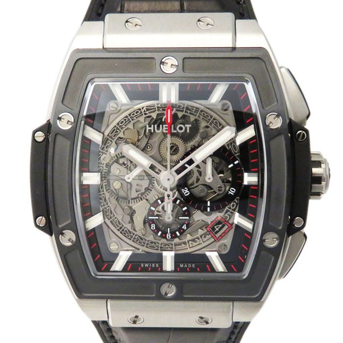 HUBLOT HUBLOT Spirit of Big Bang Titanium ceramic 601.NM.0173.LR New product Watch mens