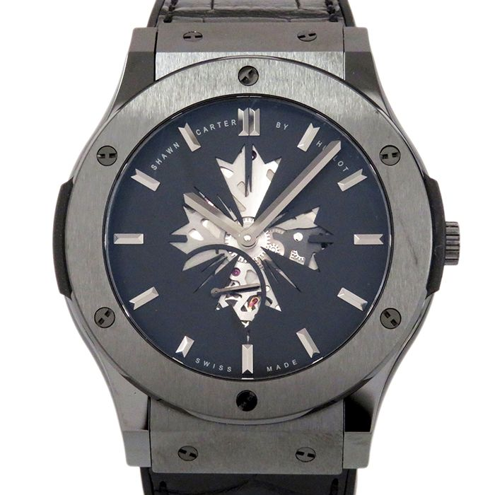 HUBLOT HUBLOT Classic fusion Classico Ultra Thin Sean Carter 250 limited editions 515.CM.1040.LR.SHC13 USED Watch mens
