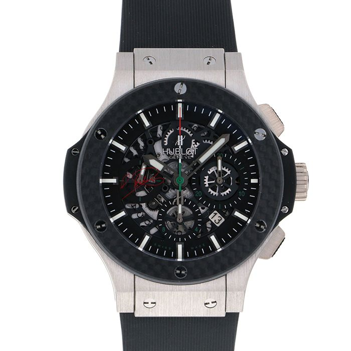 HUBLOT HUBLOT big Bang Aerovanderia Rodriguez Limited to 25 black skeletons worldwide 311.TQ.1129.HR.ME Black dial New product Watch mens