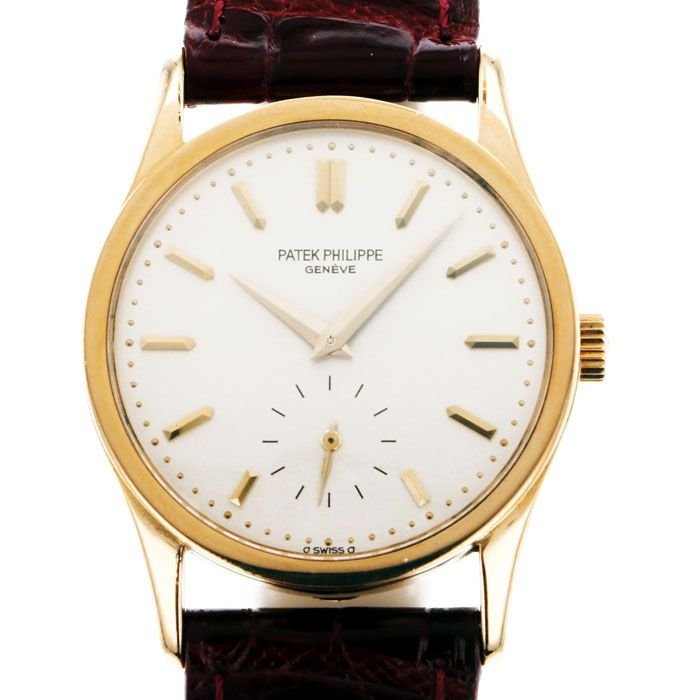 PATEK PHILIPPE PATEK PHILIPPE Calatrava 3796J-001 USED Watch mens