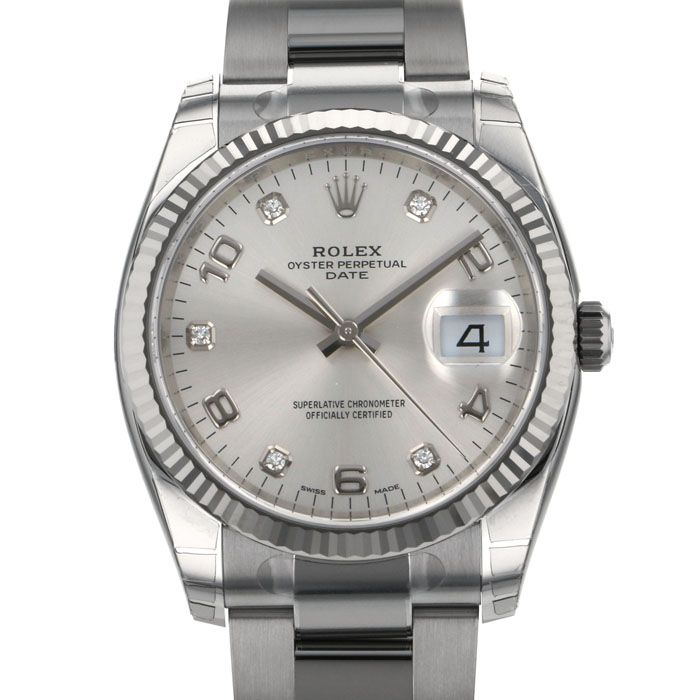 Rolex ROLEX Oyster perpetual Date 115234G New product Watch mens