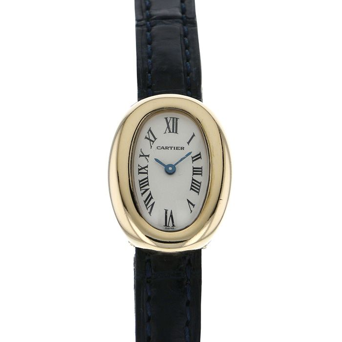 Cartier Cartier Beniwar Mini veneur W1510956 White dial USED Watch Women