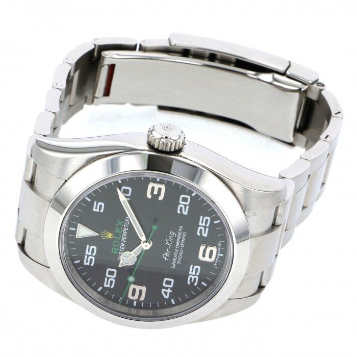hot sale online 44b0e 594d1 116900 (中古) ロレックス エアキング | 腕時計の通販 - ジェム ...