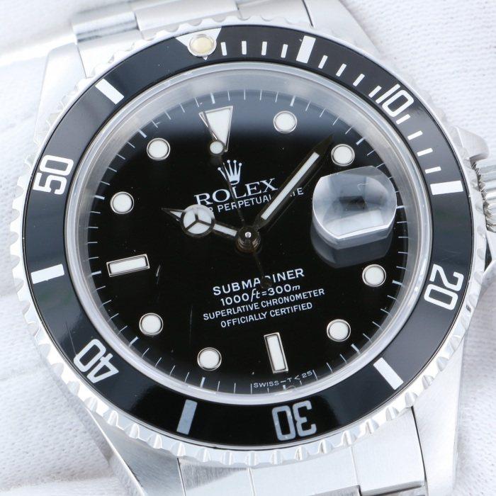 best loved 60e9f 50926 16610(中古) ロレックス サブマリーナ   腕時計の通販 - ジェム ...